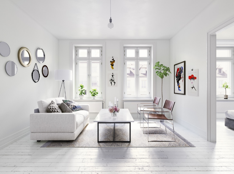 6 Ruang Tamu Sederhana agar Terkesan Modern 1