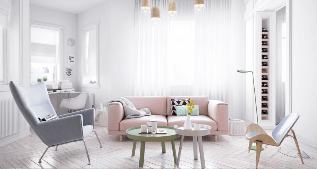 ruang tamu sederhana