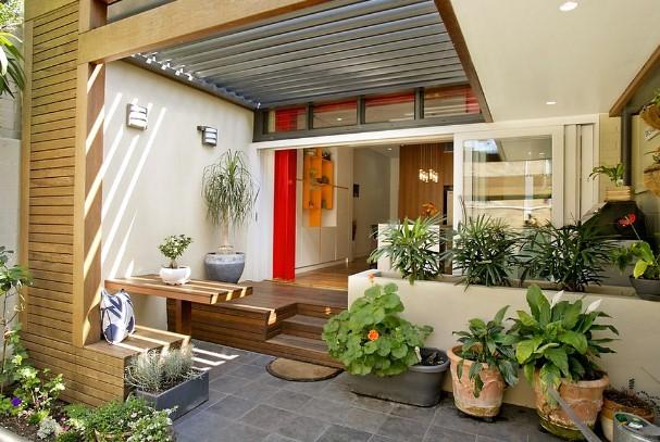11 Teras Rumah Minimalis yang Cantik dan Elegan 6