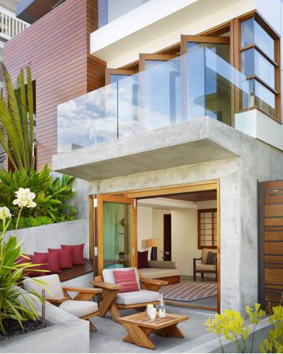 11 Teras Rumah Minimalis yang Cantik dan Elegan 3